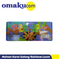 Mainan Karet Gelang Rainbow Loom