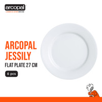 Piring Makan Arcopal Jessily - Flat Plate 27 Cm Box of 6