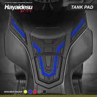 Hayaidesu PCX 160 Body Protector Fuel Tank Pad Cover - Biru