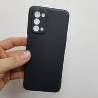 Soft Case Full Black Oppo A74 5G Slim Baby Skin Feel Back Cover