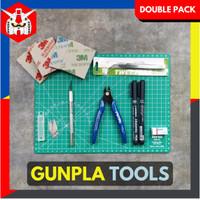 Tools Set Gundam Gunpla - Tool Kit Rakit Gundam (Double Pack)