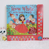 Buku Anak Import Snow White and the Seven Dwarfs with 30 sounds