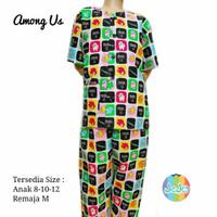 Piyama Baju Tidur Anak Laki-laki Setelan Celana Panjang 8 tahun Remaja - Sz 8 (8-9thn), Among Us