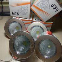 Lampu downlight LED super bright 5 wat + ballast / per set