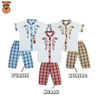 MacBear Baju Anak Laki-laki Setelan Koko Lebaran Collection Latif