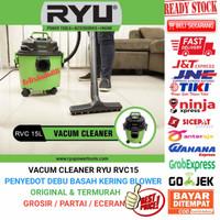 RYU VACUM CLEANER RUMAH PENYEDOT DEBU WET DRY BLOW VACUUM BASAH KERING