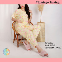 Piyama Anak Perempuan Baju Tidur Celana Panjang / Remaja / Dewasa