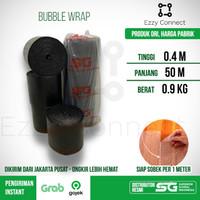 Bubble Wrap Hitam SG SIAP SOBEK 40 cm x 50 meter