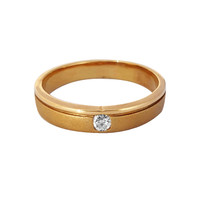 Wedding Ring / Cincin Emas Berlian - SR 0340Y