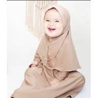 Baju muslim bayi perempuan newborn 0-6 bulan size S BabyZu