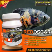 Pakan Ikan Oscar Pelet Makanan Oscar Premium Oscar Tiger Albino Batik