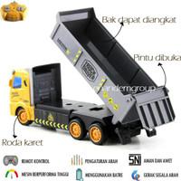 Mainan Mobil Remot Kontrol RC Dump Truk Max - Ban 6 terjamin