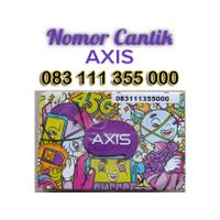 Nomor Cantik Kartu Perdana Axis 4G Lte 083 111 355 000
