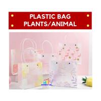 Goodie Bag / Plastic Bag PLANTS & ANIMAL