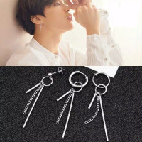 Anting style KOREA BTS /anting jepit / Anting pria / anting style 1pcs