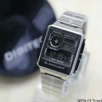 Jam Tangan Digitec 3078 Rantai Silver