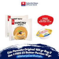 Edo Pancake Original 165 gr Buy 2 Get 1 FREE EV Butter Portion 10 gr