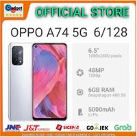 OPPO A74 5G 6/128 6 128 GB GARANSI RESMI OPPO INDONESIA