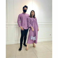 LIMITED EDITION KAFTAN DRESS BAJU LEBARAN PASANGAN COUPLE MODIS GLAMM