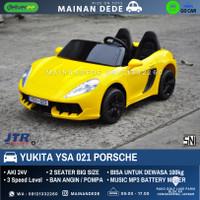 Mainan Anak Mobil Aki Porsche Yukita YSA 021 JUMBO SIZE
