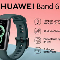 huawei band 6 Resmi (Hijau/Green)