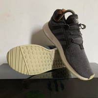 Sepatu ADIDAS XPLR ORIGINAL sneakers black grey SLIP ON
