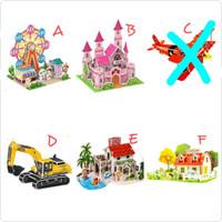 Puzzle 3D mainan puzzle anak EPS foam mainan edukasi DIY montessori