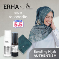 ERHA X AUTHENTISM Paket Brightening - Pencerah Wajah & Kerudung Raida