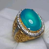 cincin batu bacan doko mejiko asli natural
