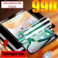 Advan Sketsa Tab 10 Anti Gores Hydrogel Screen Guard Clear Bening TPU