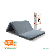 Domi Tri-Fold Mattress 120 x 200 cm - Kasur Busa Lipat Tiga Foldable