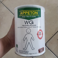 susu appeton nutrition WG high protein milk powder