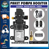 PAKET POMPA BOOSTER SHOWER WATER HEATER TOREN - DP537 OTOMATIS ON/OFF