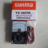 MULTITESTER YX-360TR SAMWA SUNWA AVOMETER ANALOQ MANUAL SUNMA