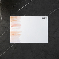 Notecard/Kartu (Pastel) Isi 5 - Birthday/Note/Thank You/Greeting Card