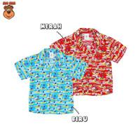 MacBear Baju Anak Laki-laki Kemeja Lebaran Collection Kerah Jas Tower