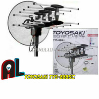 TOYOSAKI Antena TV Outdoor TWS-888SC Antenna Luar Remote Control Remot