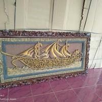 kaligrafi ayat seribu Dinar model Perahu