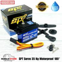 SPT Servo Large Torque 35 Kg Waterproof Full Metal Gear Digital