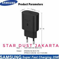 Kepala Charger samsung Galaxy S21 S21+ S21 Plus S21 Ultra USB-C 25W