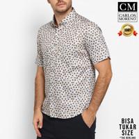 Carlos Moreno Kemeja Casual Pria - Hugo Shirt