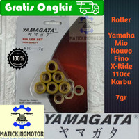 Roller Racing Yamaha Mio Fino X-Ride Fino Nouvo 110cc Karbu Yamagata - Mio - 7gr