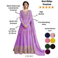 Femme Ols - Maxi Shilpa / Baju Gamis / Baju India /Maxi Fashion Wanita