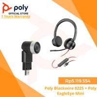 Poly Blackwire 8225 + Poly EagleEye Mini