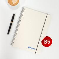 Notebook Spiral DOT/GRID B5 by Bukuqu