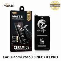 Xiaomi Poco X3 NFC / Poco X3 PRO Tempered Glass Gaming Matte Ceramic