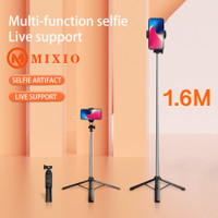 MIXIO A31 160CM Tongsis Bluetooth Selfie Stick Tripod