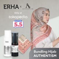 ERHA X AUTHENTISM Paket Brightening - Pencerah Wajah & Kerudung Agni