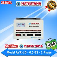 Stabilizer Listrik Matsuyama - AVR - L 0,5 GS - 500 VA - 350 Watt
