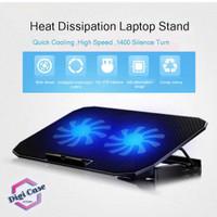 Cooling Pad   Coolingpad   Cooler Laptop Adjustable 2 Large Fan N99